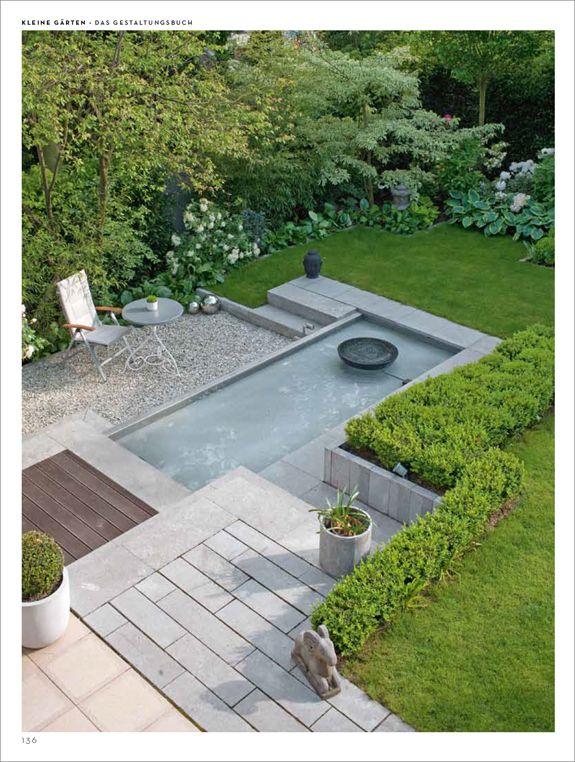 Große Ideen für kleine Gärten   Exterieurs   Pinterest   Kleine ...