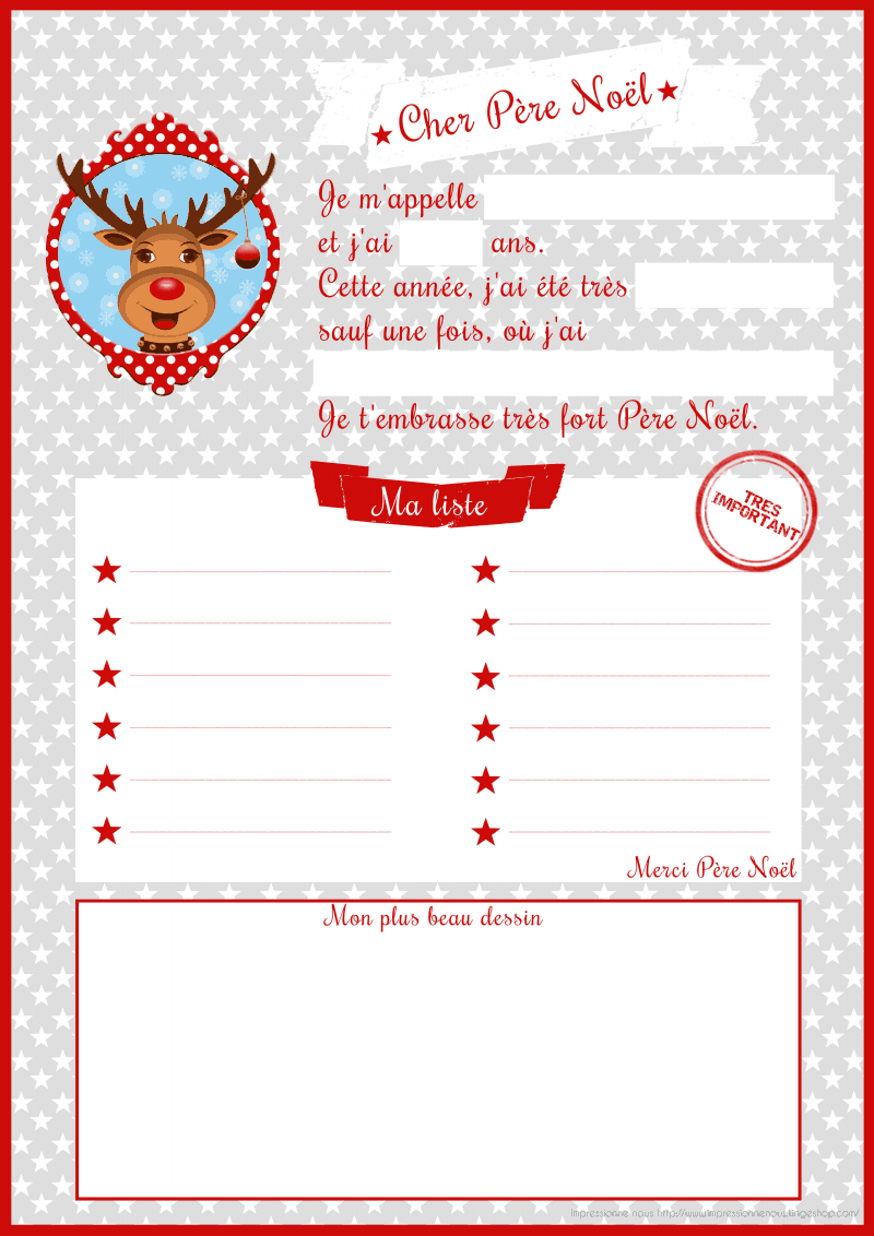 Liste Pour Le Pere Noel : liste, Lettre, Père, Christmas, Crafts, Kids,, French, Christmas,, Craft, Activities