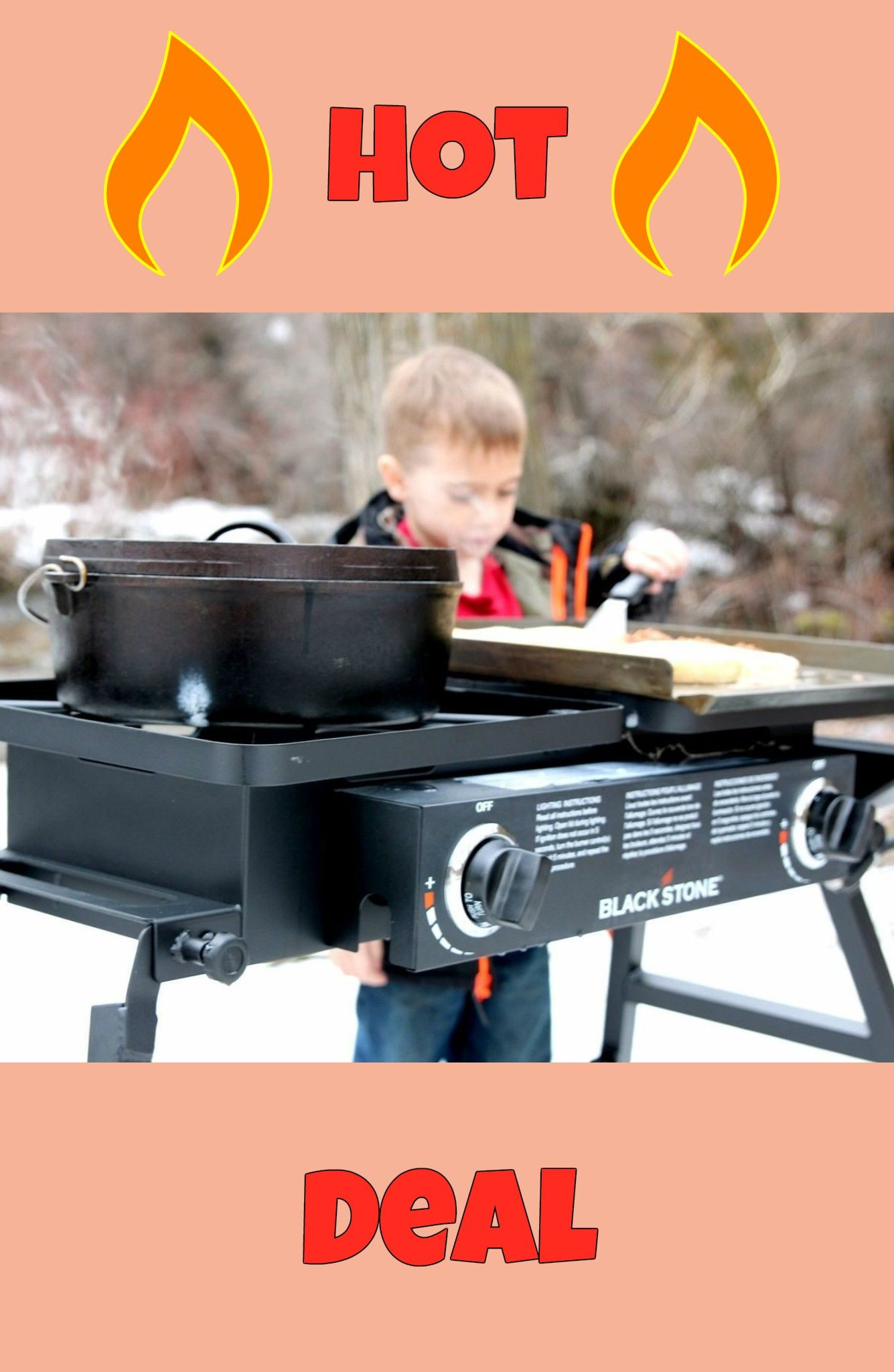 Blackstone grills tailgater portable gas grill only 125
