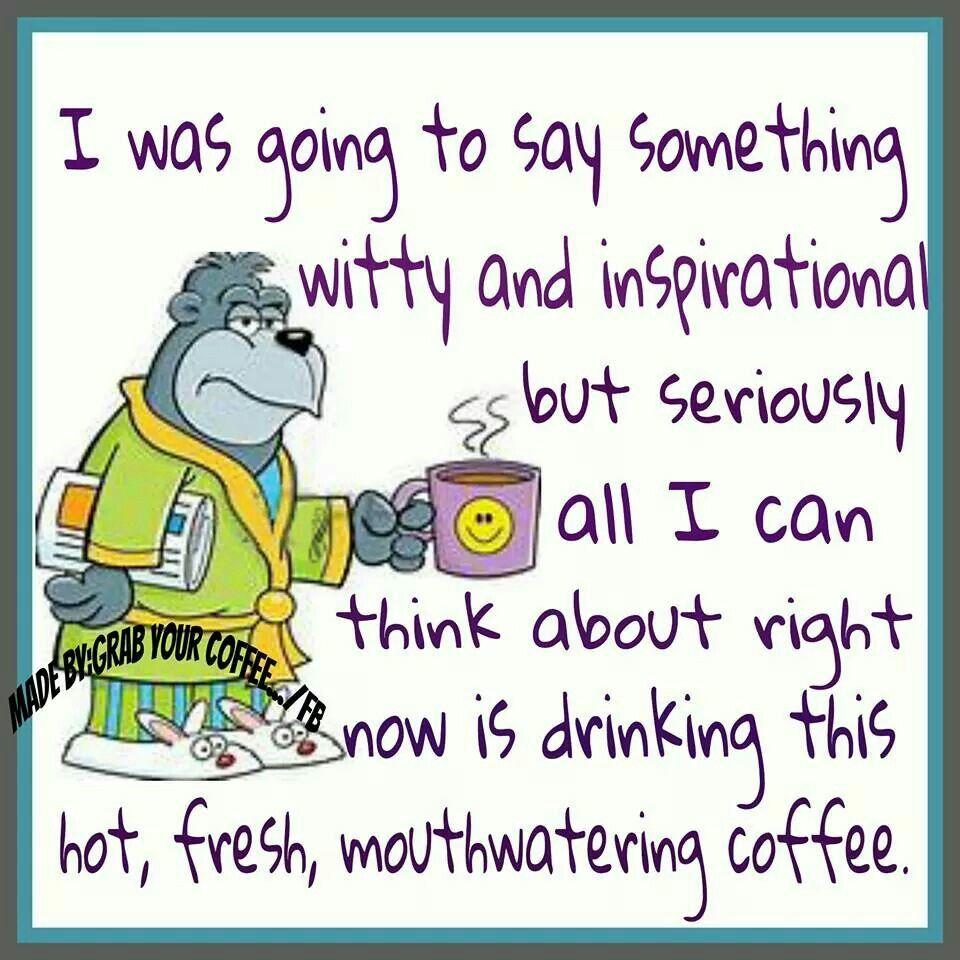 Coffee...*sigh* Yes!!