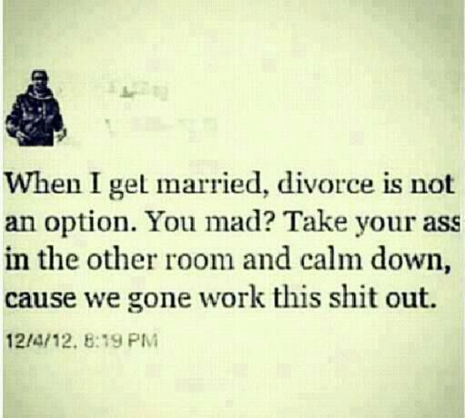 Exactly!!! This will be my marriage :)