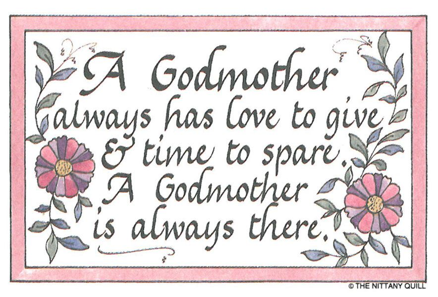 Sayings About Godmothers | Godmother Quotes | Godmothers