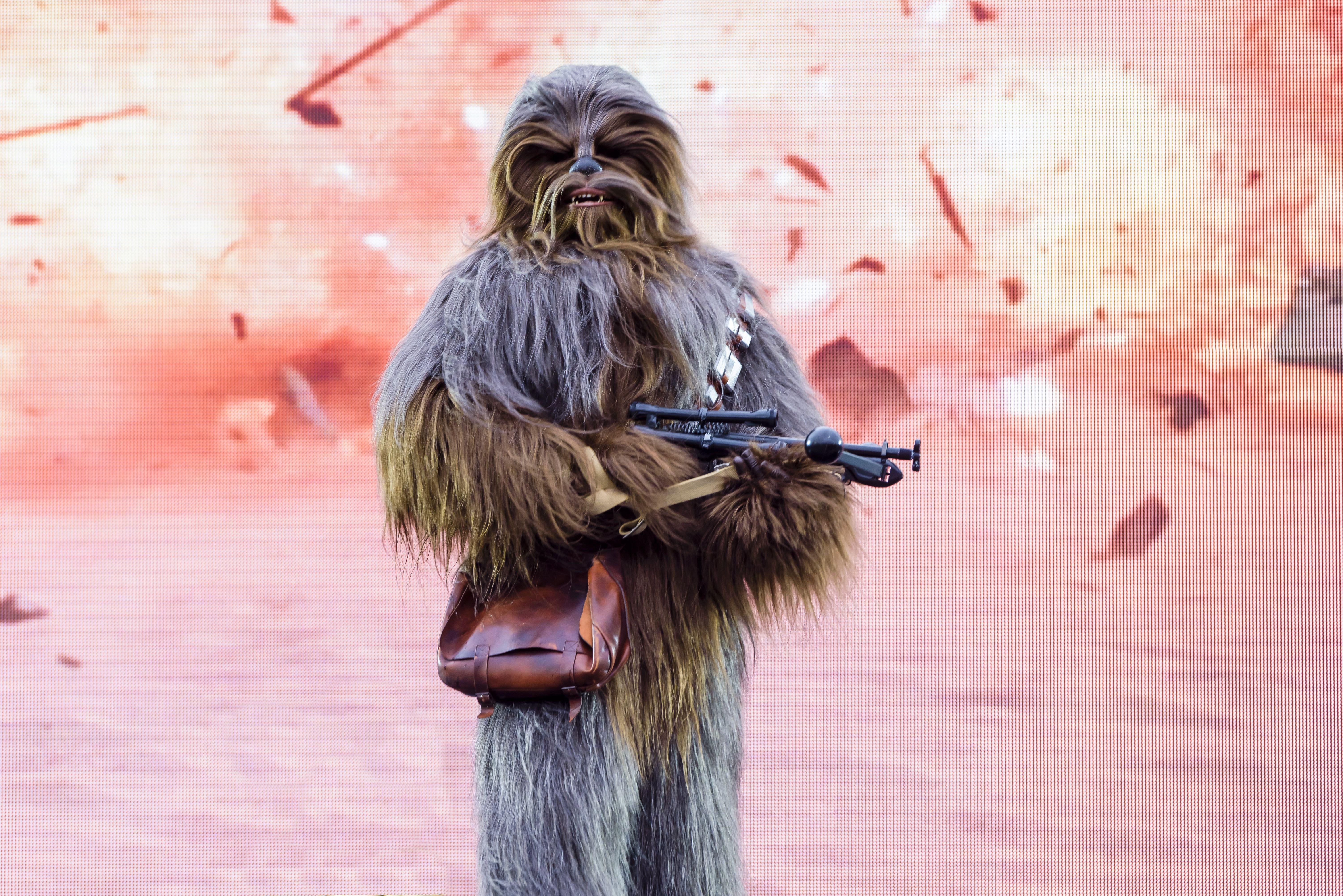 A Galaxy Far Far Away Chewbacca