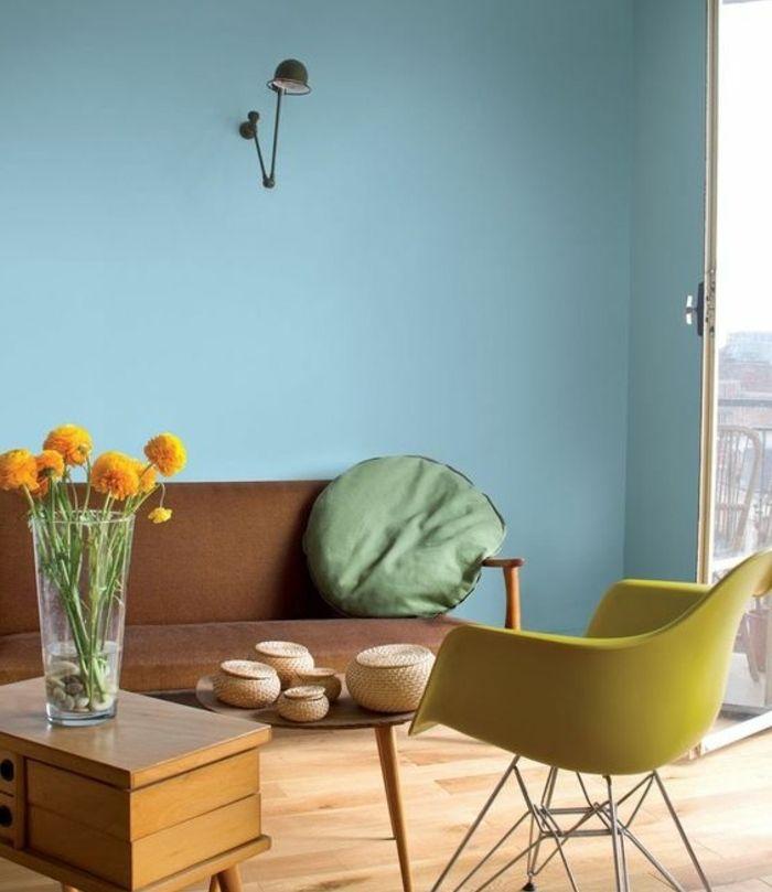 1001 Idees Creer Une Deco En Bleu Et Jaune Conviviale