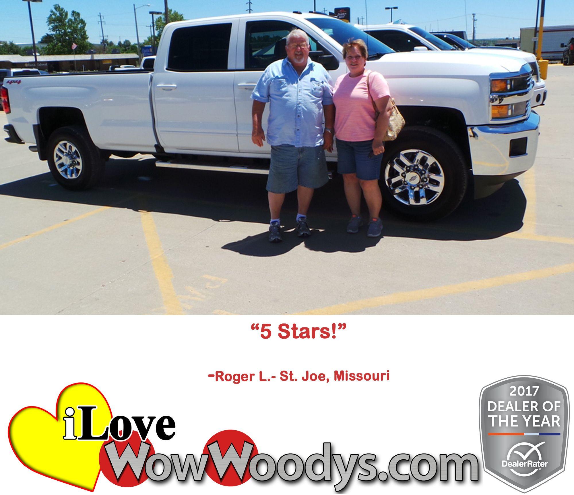 """5 Stars!"" Roger L. St. Joe, Missouri Used cars, Car"