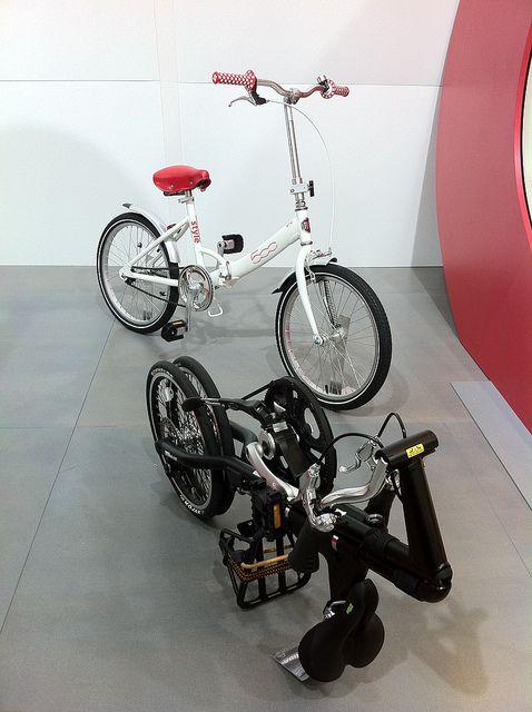 Fiat 500 Folding Bike Meets Strida Bike Folding Bike Fiat 500
