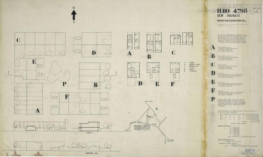 Fondation Le Corbusier - Projects - Étude du0027habitation HEM