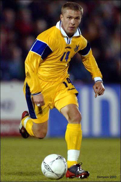 Serhiy Rebrov Ukraine Football Ukraine