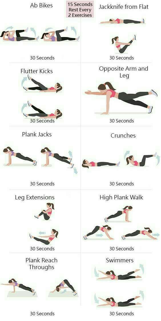 6 Minutes To Trim Your Waist Line!