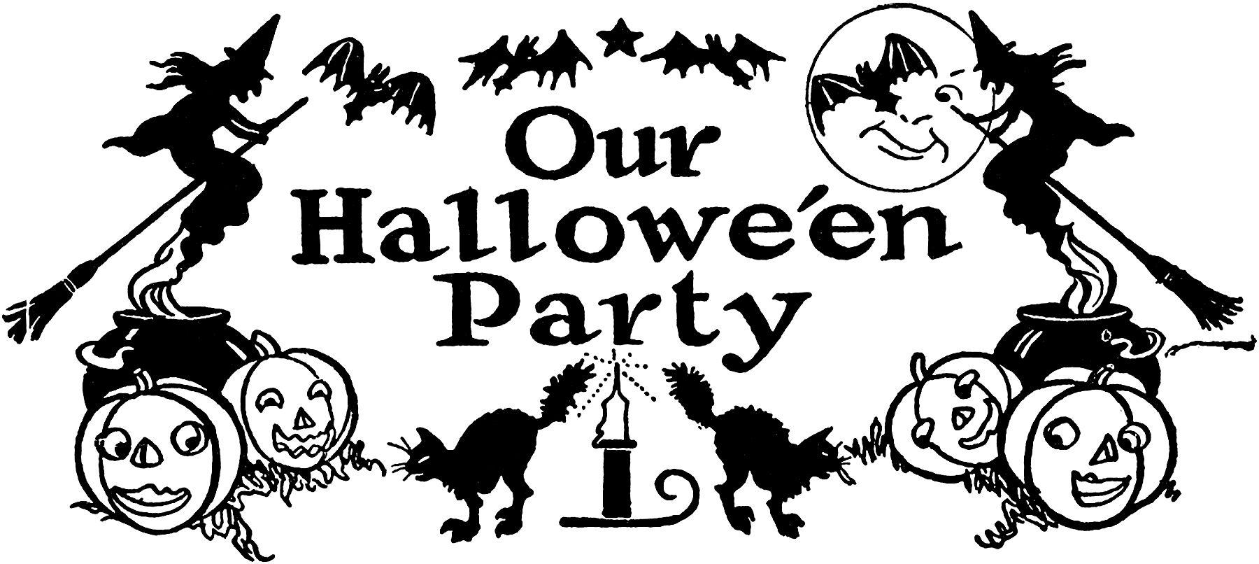 Vintage Halloween Graphicsfairy012 Jpg 1800 806 White