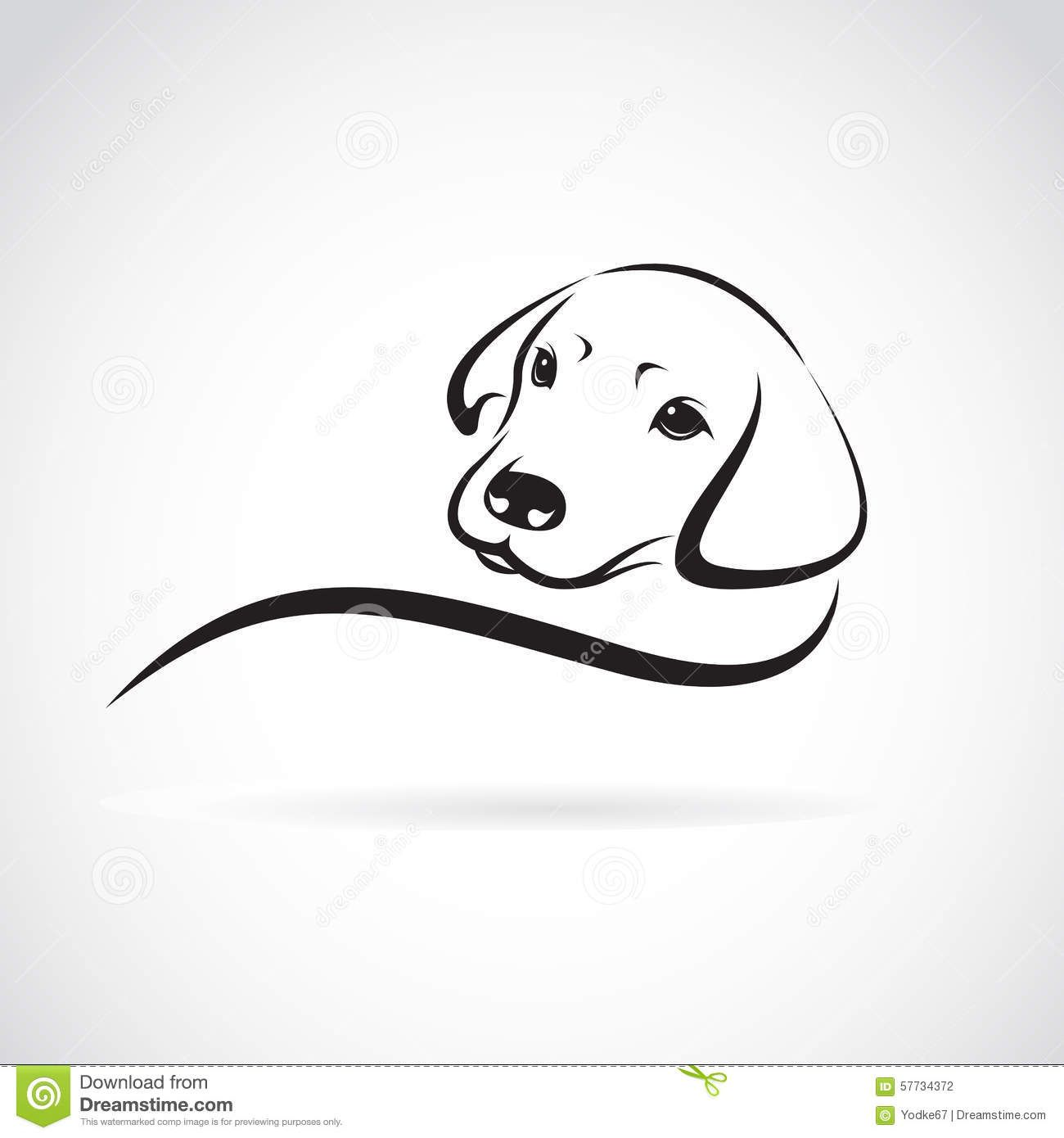Vector Image Of An Dog Labrador Download From Over 53 Million High Quality Stock Photos Images Vectors S Hund Tattoo Ideen Hundezeichnung Hunde Silhouette