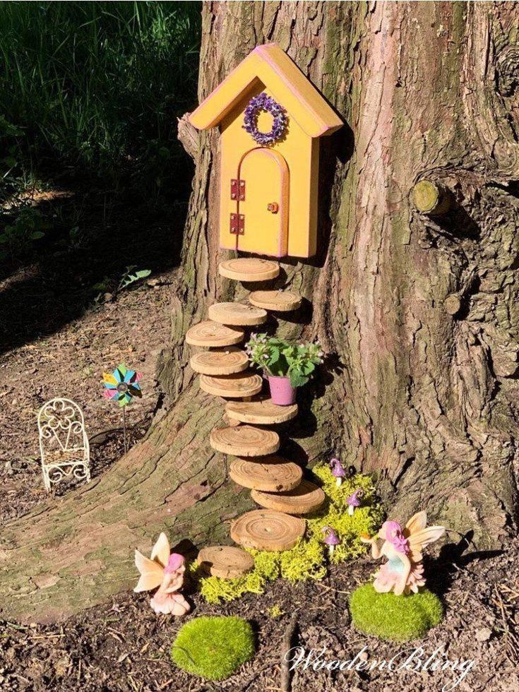 Fairy Door that opens, Fairy Door, Fairy Garden, M