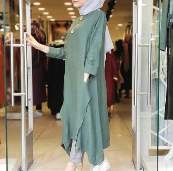 Kapali Bayanlarin Vazgecilmezi Tunikler Yeni Tasarimlarimizla Goz Kamastiriyor Kod 2904 140tl Bej Siyah Ve Kiremit Renkleri M Islami Giyim Giyim Moda Stilleri