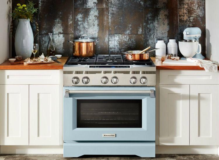 Kitchenaid celebrates 100th birthday with misty blue