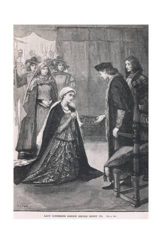 Lady Catherine Gordon : catherine, gordon, Giclee, Print:, Catherine, Gordon, Before, Henry, 24x16in, Tudor, History,, History, England,, English
