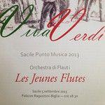 """""""Vi aspettiamo #verdi #musica #flauto #ensemble #flute #giuseppeverdi #concertogratuito"""" (No filter) - 05/09/2013 - bettabat"""