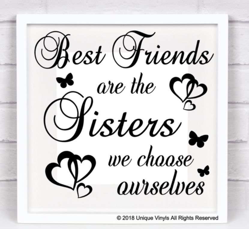 Details about Best Friends are the Sisters we choose