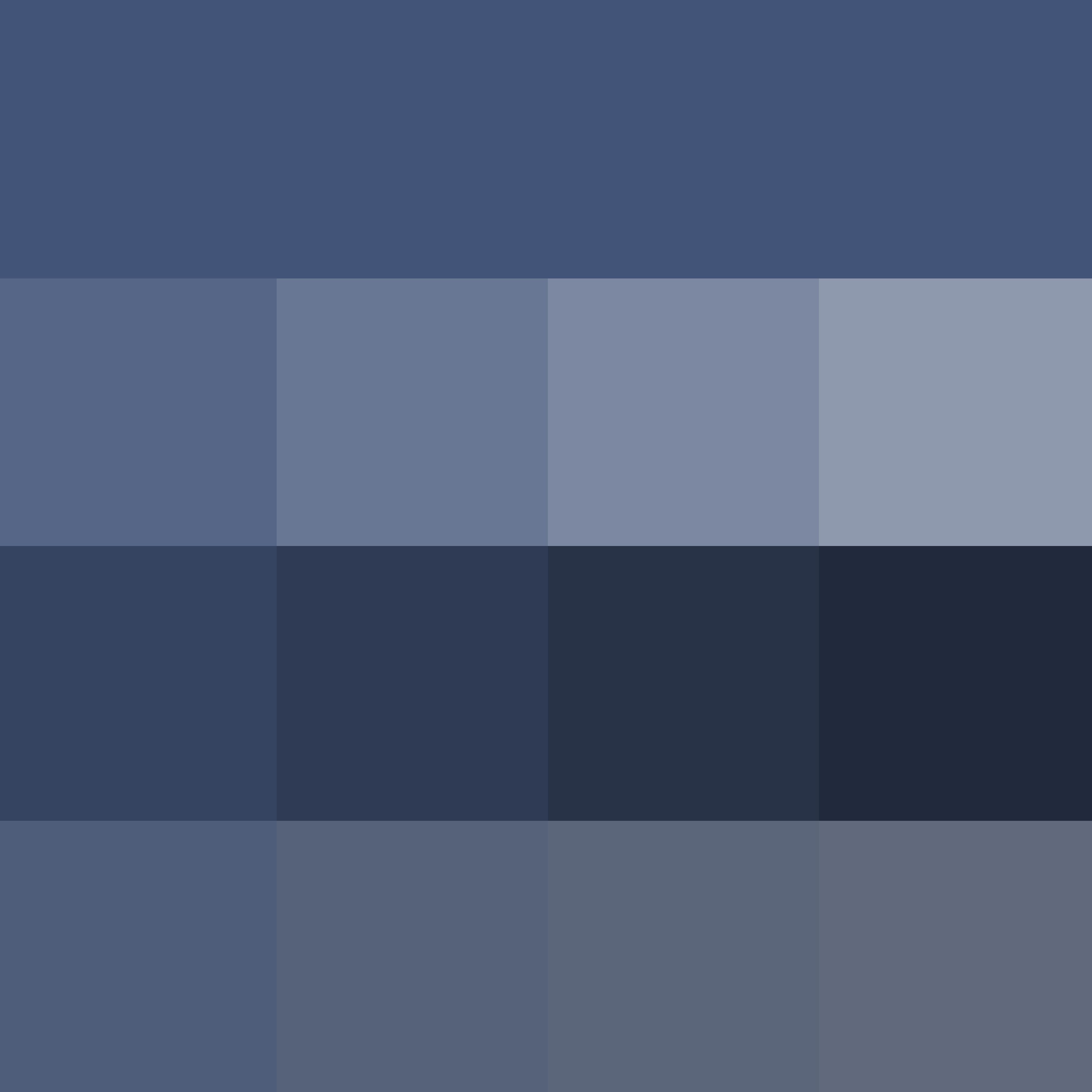 Pantone True Navy Hue Pure Color With Tints Hue White