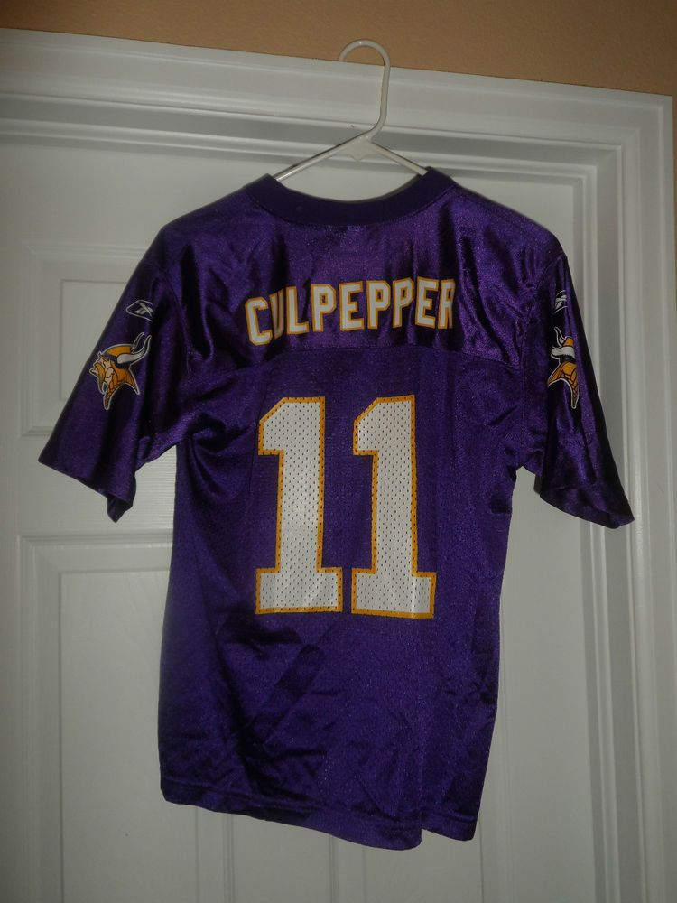 c8ae96230949 Youth Boys Purple MINNESOTA VIKINGS NFL  11 CULPEPPER Jersey