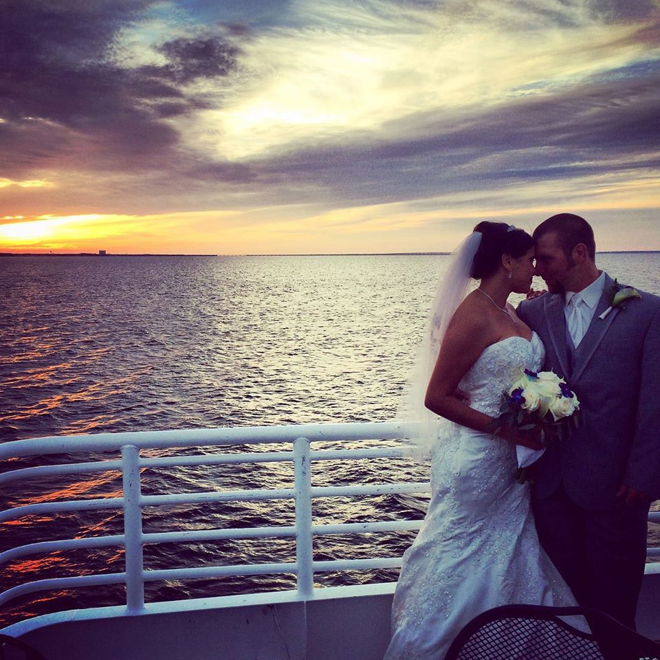 Romance between the sea and sky on the SOLARIS yacht in Destin.