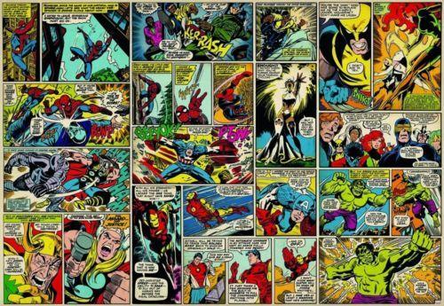 Marvel Comic Heroes Marvel Comics Photo Wallpaper Wall