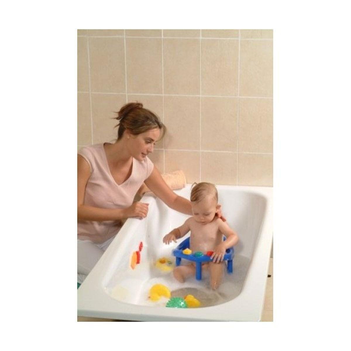 Amazon.com : Babymoov A022001 Babies\' Bath Seat with Ring Aqua-Blue ...