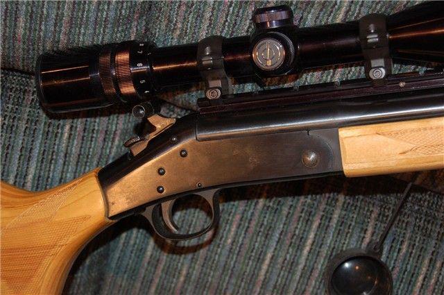 Heavy Barrel 223 H Amp R Handi Rifle Synthetic Stock Single