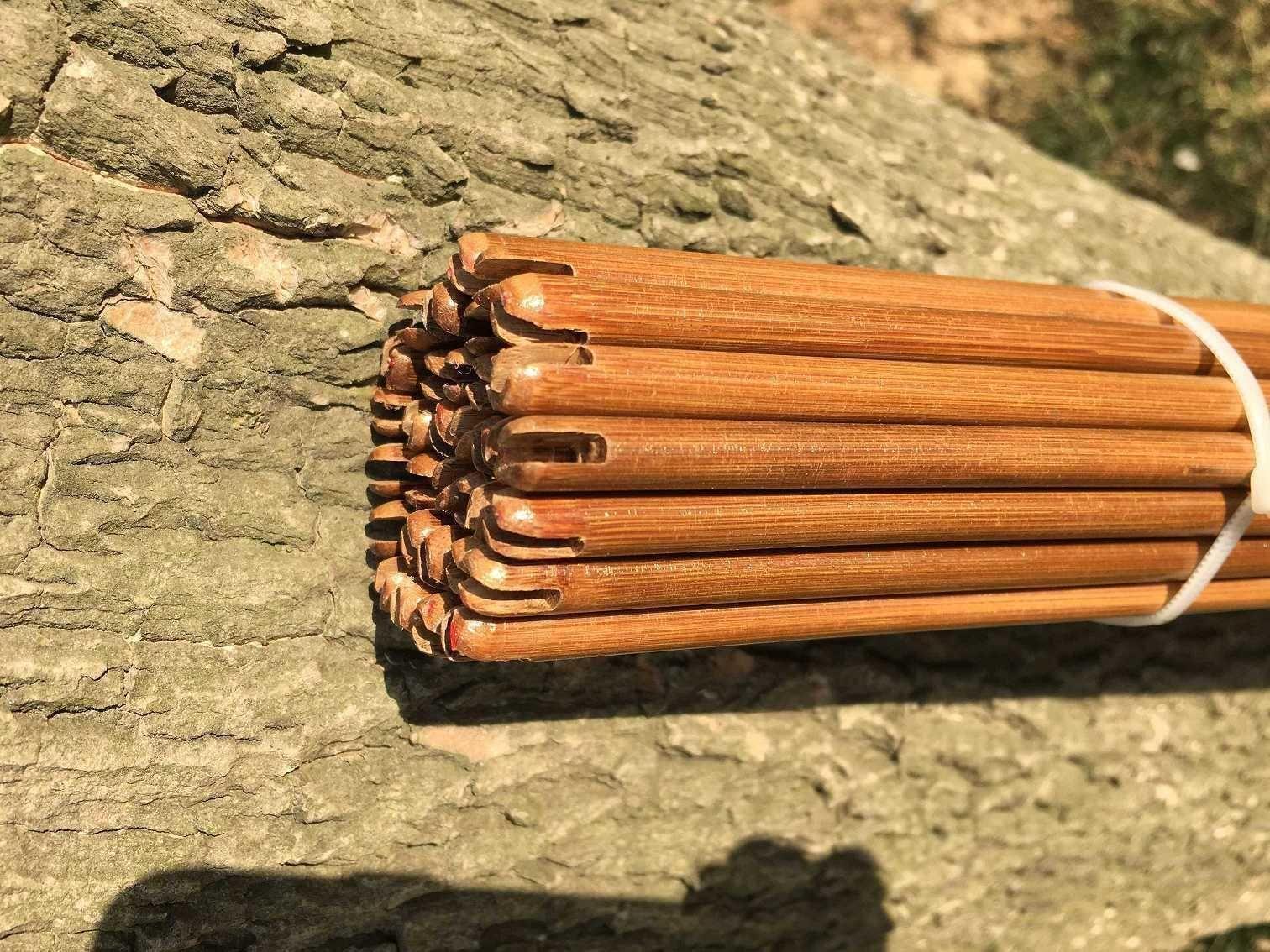 """long only shafts 84cm 100pcs NewTonkin Bamboo arrow shaft  handmade 60-65# 33/"""""""