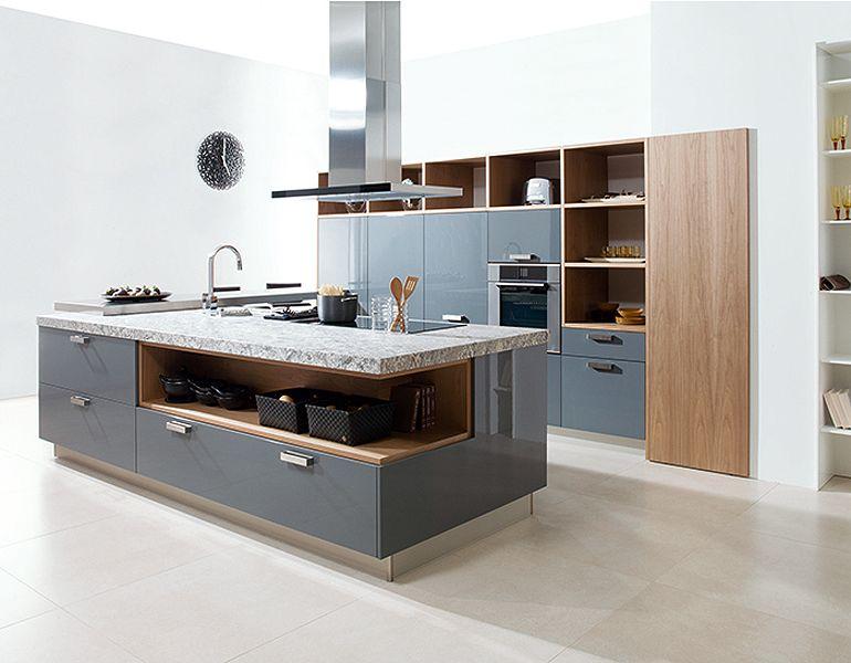 Porcelanosa- kitchen | Contemporary kitchen island ...