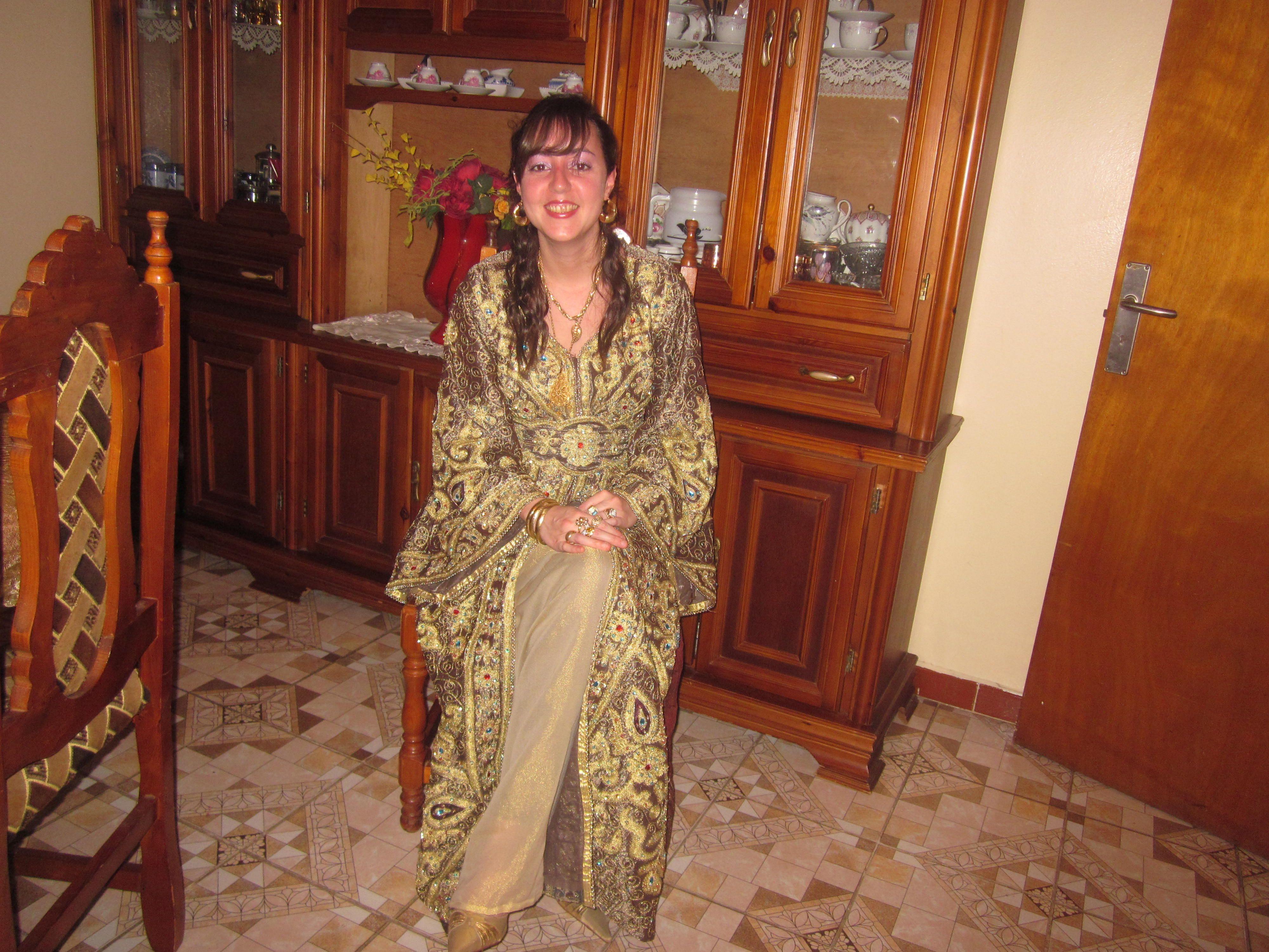 Algerian wedding dress   Algerian dresses   Pinterest