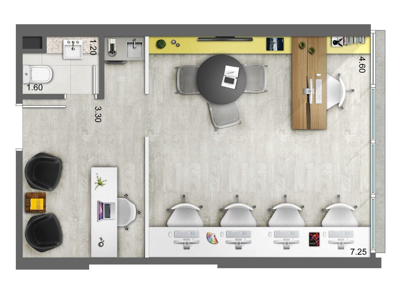 Smart artsy planos arquitect nicos en 2018 pinterest for Diseno de interiores oficinas pequenas