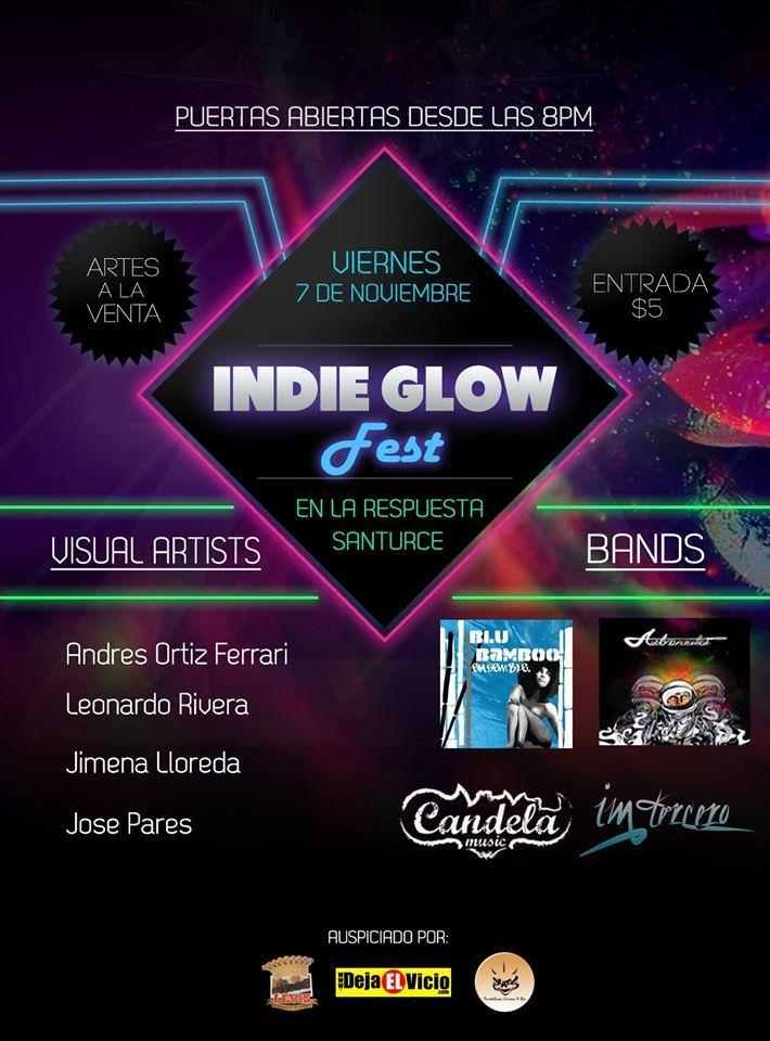 Indie Glow Fest @ La Respuesta, Santurce #sondeaquipr #indieglowfest #larespuesta #santurce #sanjuan
