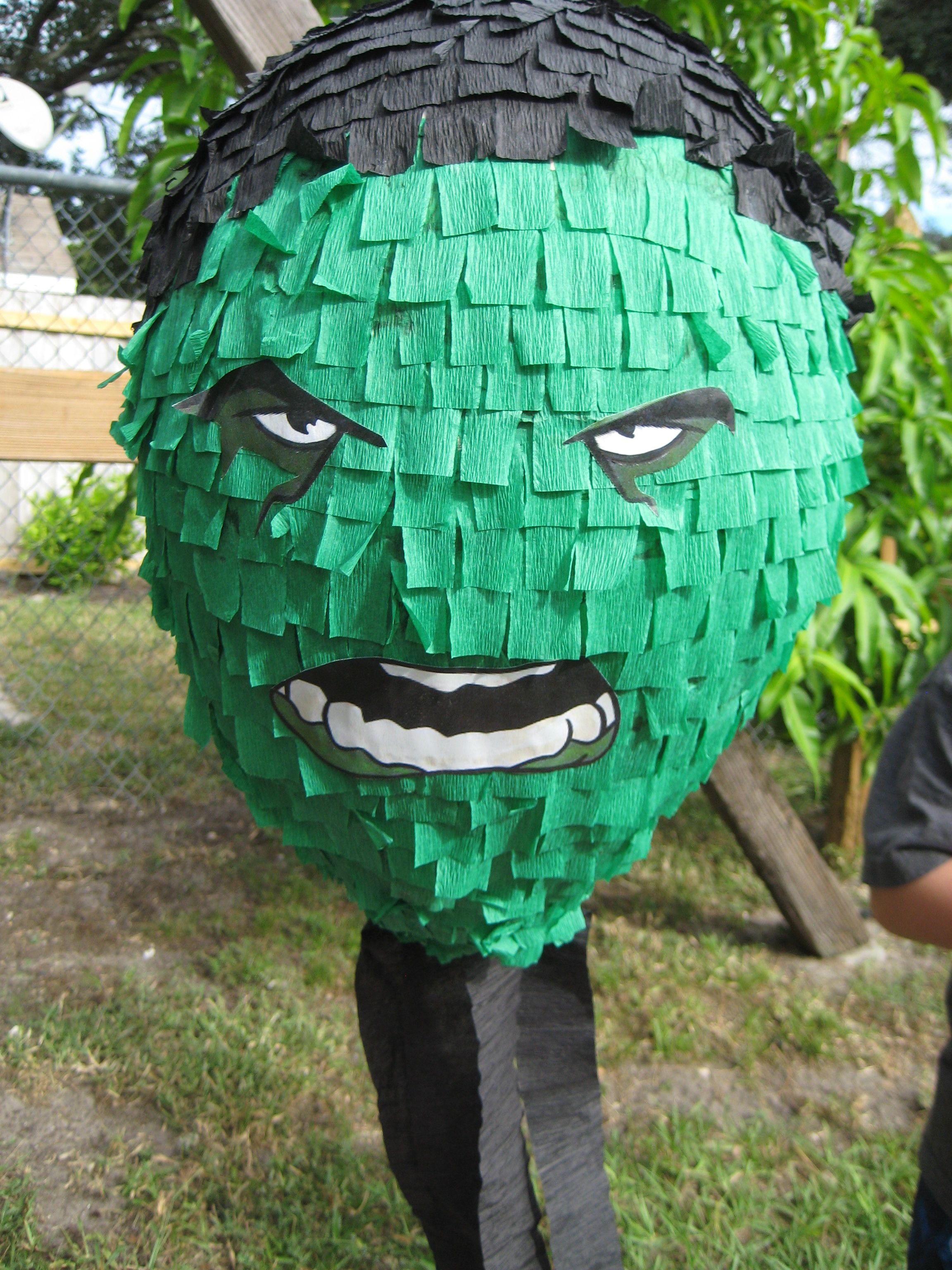 Hulk Pinata Hulk Party Pinterest Hulk Party