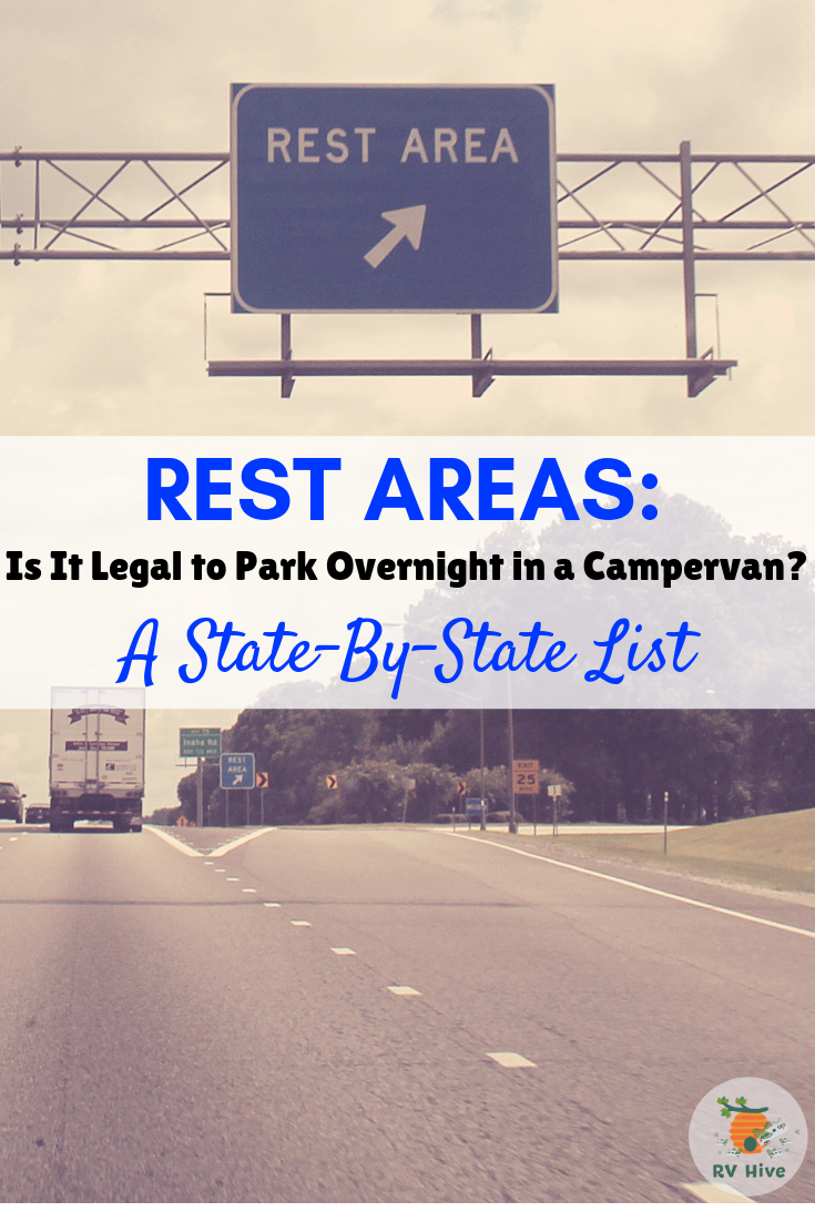 Rest Areas: Is It Legal to Park Overnight in a Campervan?