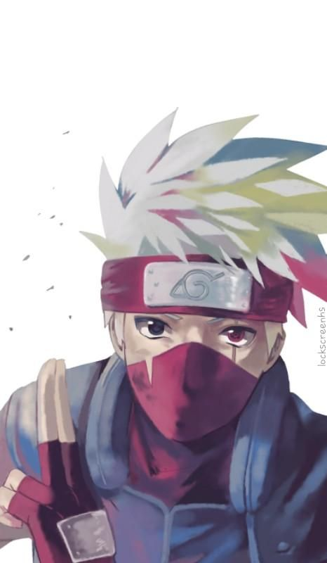 Officially Going To Be My New Home Screen Lol Naruto Uzumaki Anime Naruto Kakashi Hatake