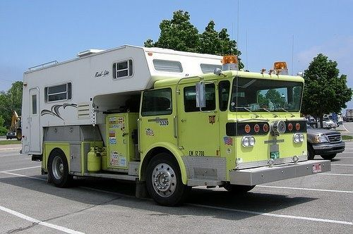 Funny Rv Fire Truck Camper In Case Of Emergency With Images
