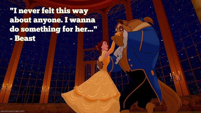 17 Disney Beauty And The Beast Quotes With Images Love Beauty