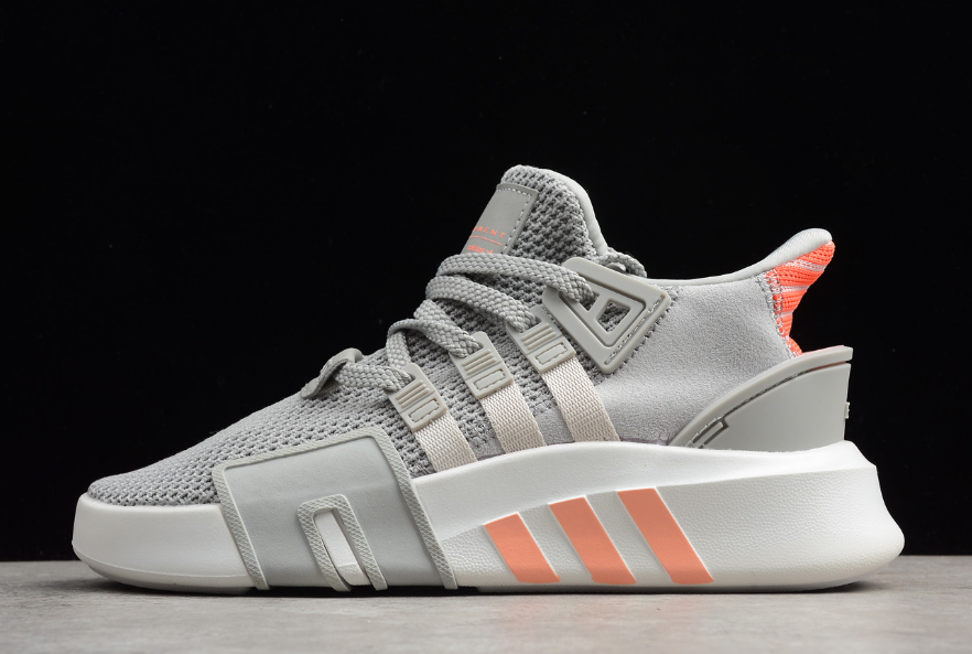 Women s Adidas EQT Basketball ADV Grey Two Grey Orange For Sale – Sole  Adidas a88c7d382