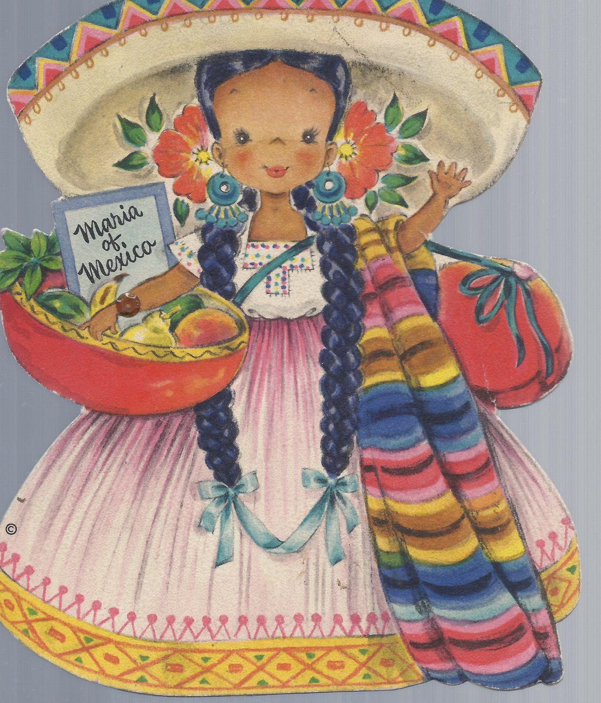 Feliz Cumpleanos Feliz Cumpleaos Pinterest Vintage Cards