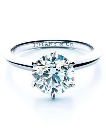 Engagement Ring 101 Martha Stewart Weddings Tiffany Engagement Ring Tiffany Engagement Diamond Solitaire Engagement Ring