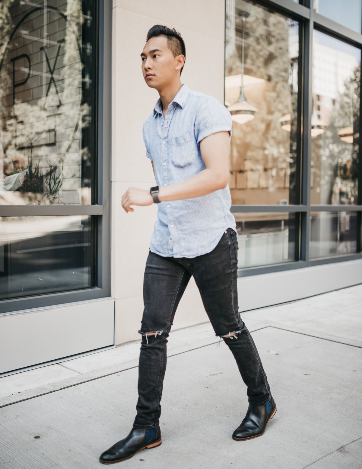 Chelsea boots outfit, Mens winter