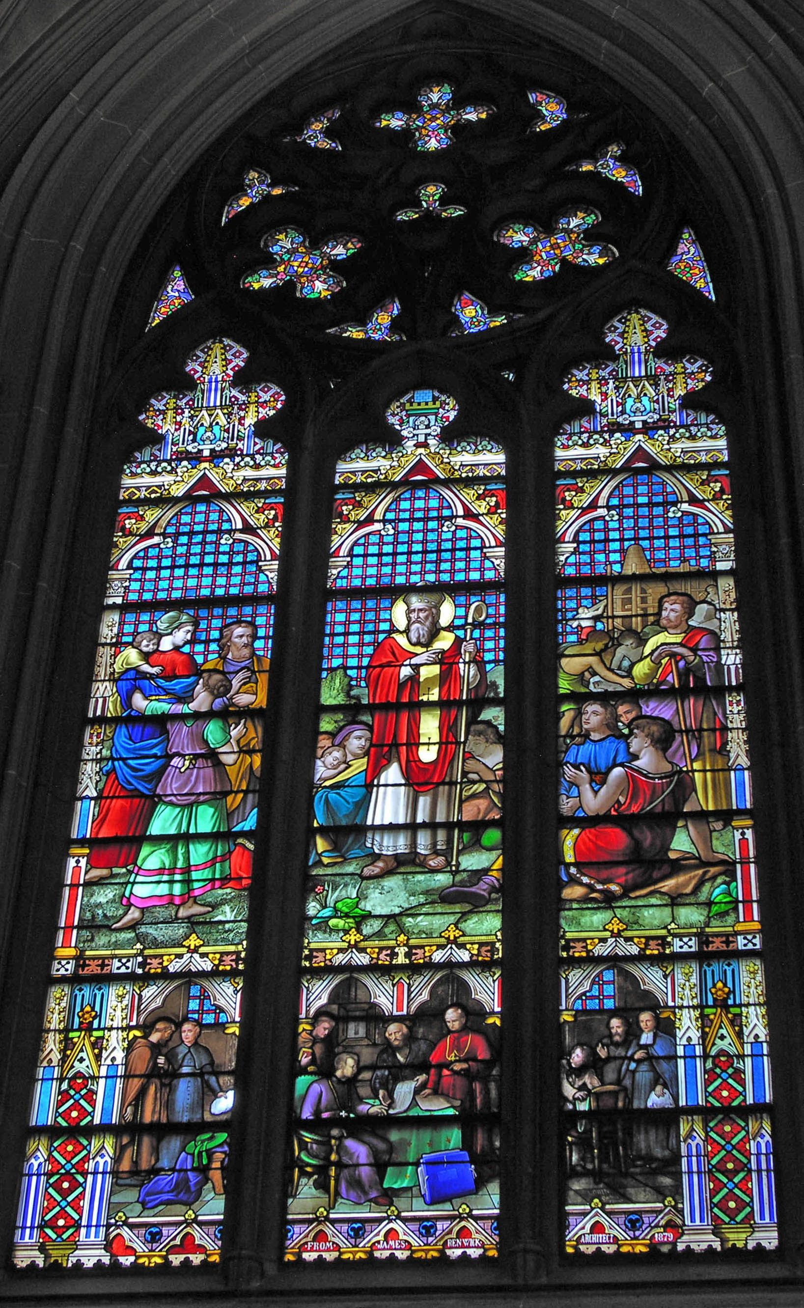 Farley Window St Patrick S Cathedral New York City New York St Patrick S