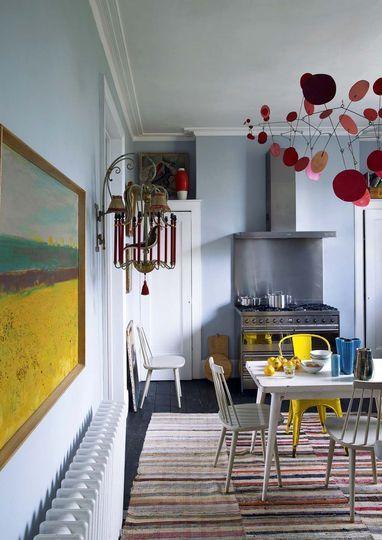 Deco vintage, couleur récup, bonnes idées Pallets, Room and Interiors - Idee Deco Cuisine Vintage