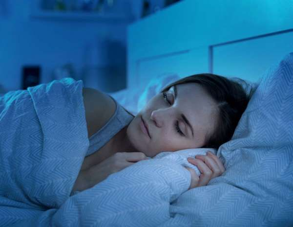 If you want to fall asleep faster, think about staying awake. 'It sounds counter intuitive, but for ... - Leszek-Glasner/shutterstock