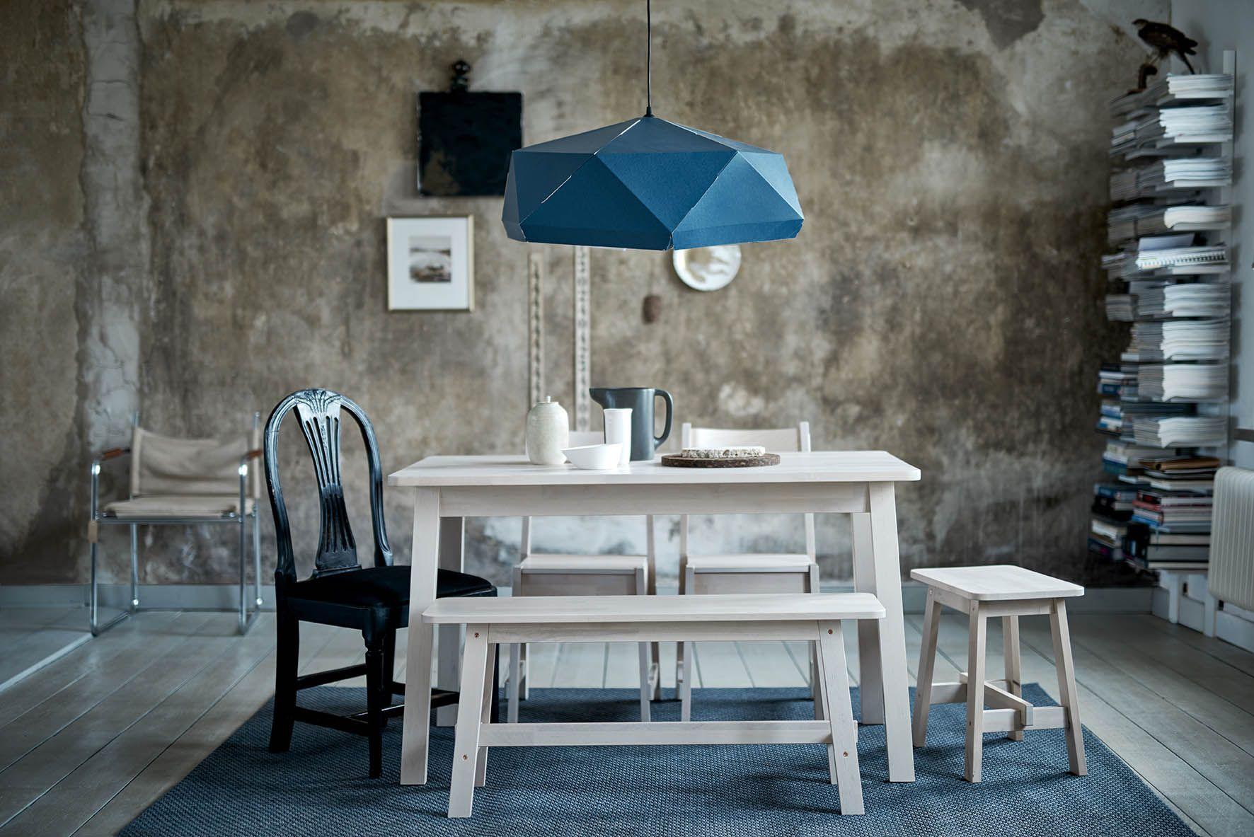 NorrÅker tafel #ikea #ikeanl #massief #berken #koper #duurzaam