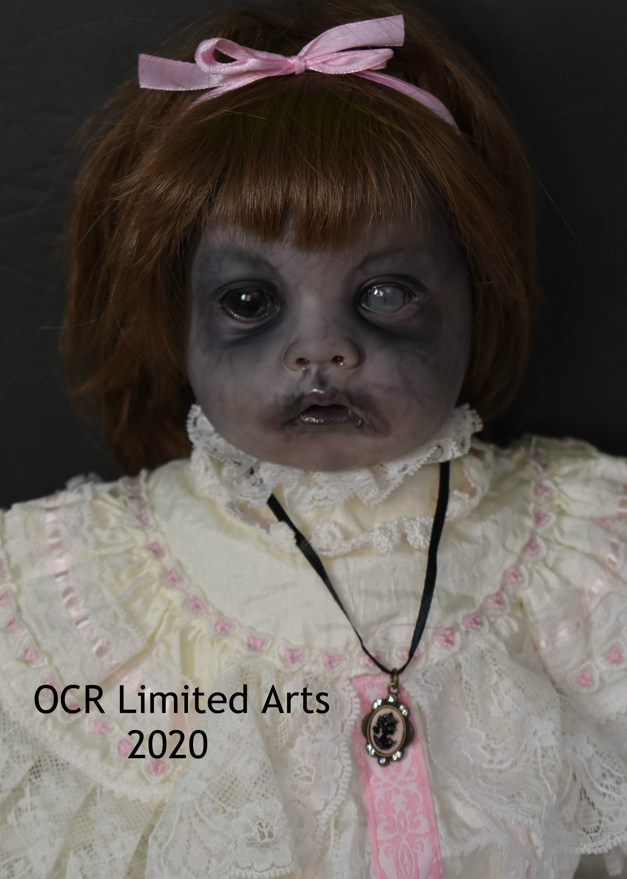 Repaint Reborn Alternative Horror Zombie Baby ANNIKA 22 ...