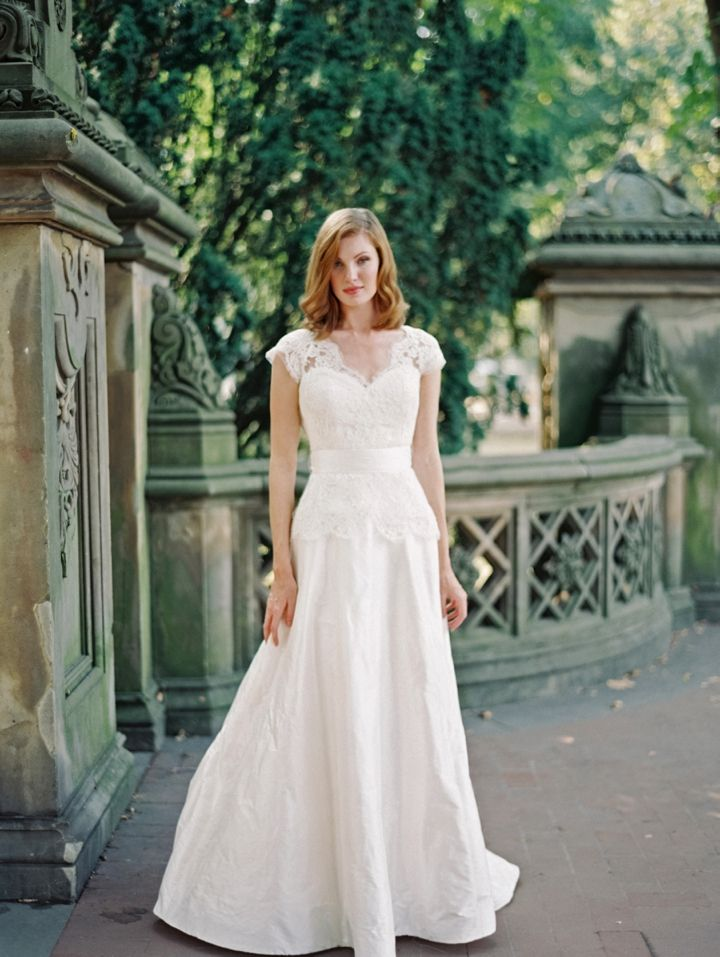 25 Stunning Non Strapless Wedding Dresses