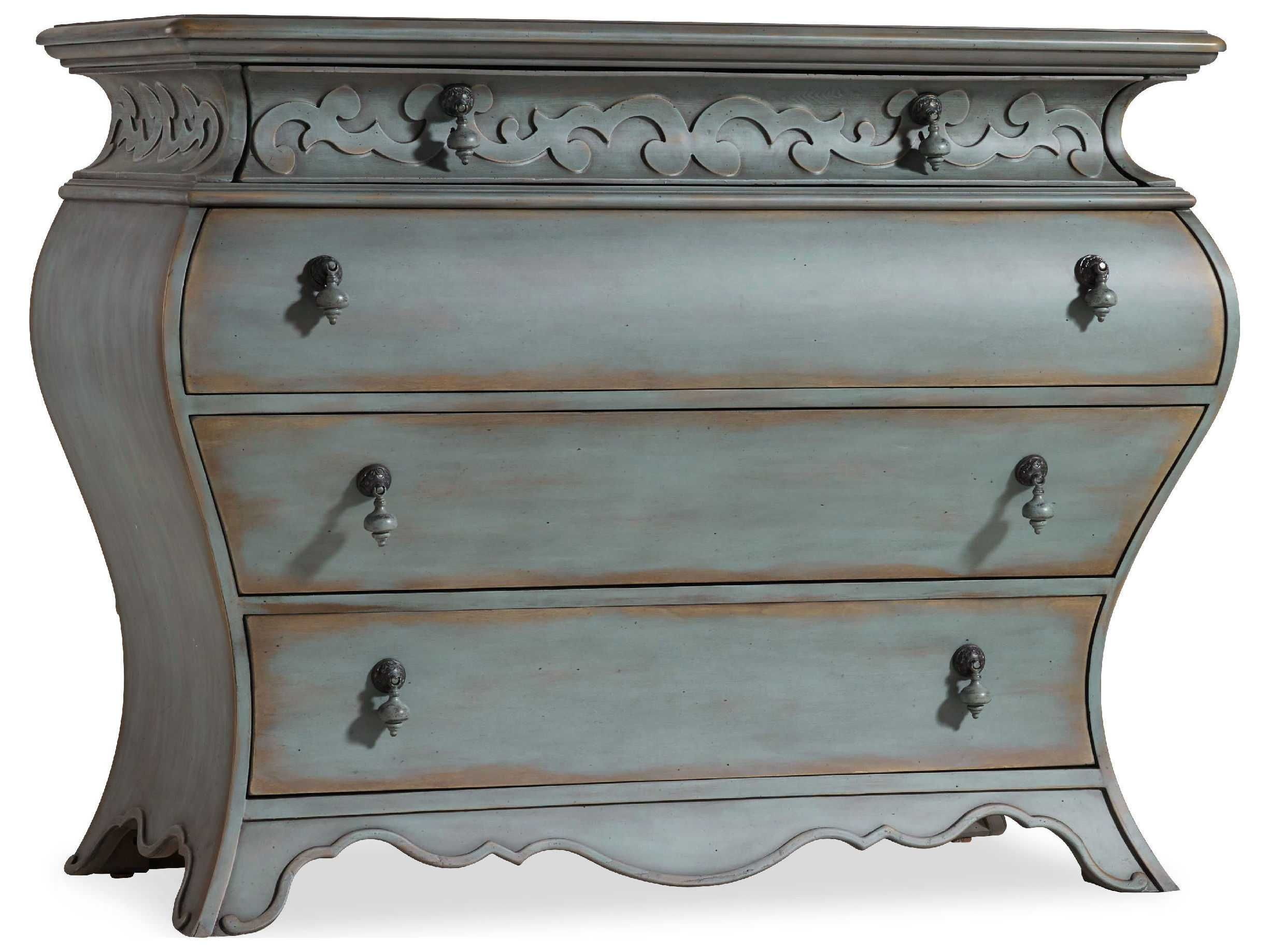 Hooker Furniture Blue 49u0027u0027W X 23u0027u0027D Bombay Accent Chest