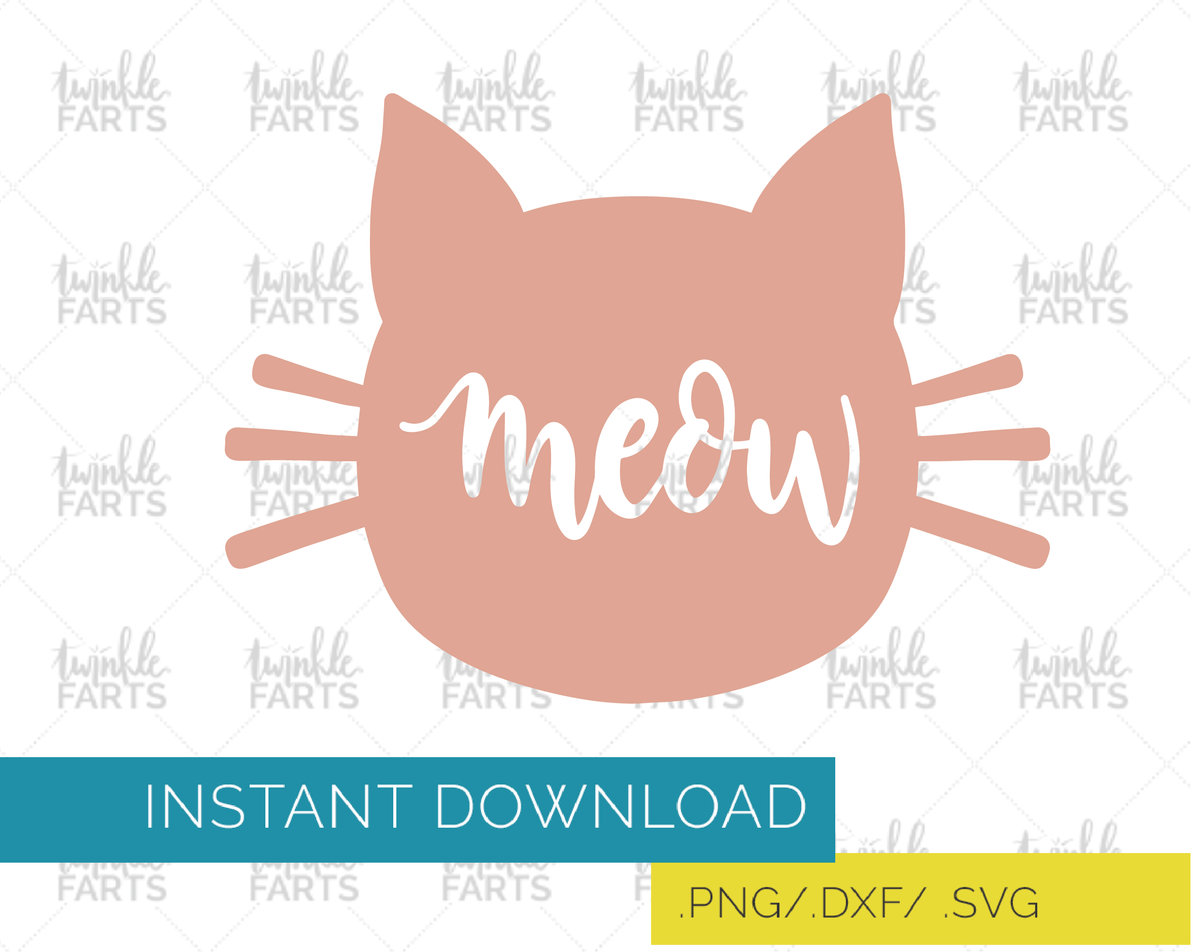 Meow Cat Head Silhouette Svg Silhouette Svg Svg Silhouette Cameo Projects