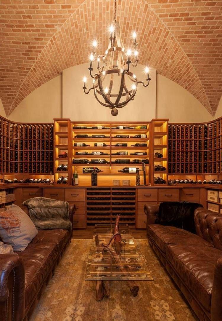 20 Glorious Contemporary Home Bar Designs You Ll Go Crazy For: Home Wine Cellars, Wine Cellar Design, Cellar Design